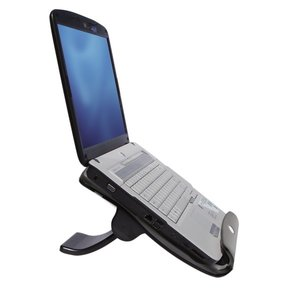 Notebook stand with usb hub